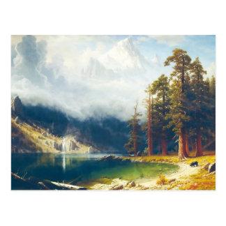 Cartão Postal Montagem Corcoran por Albert Bierstadt 1876-77