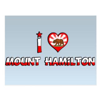 Cartão Postal Montagem Hamilton, CA