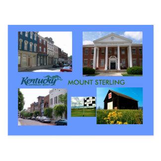 Cartão Postal Montagem Sterling, Kentucky