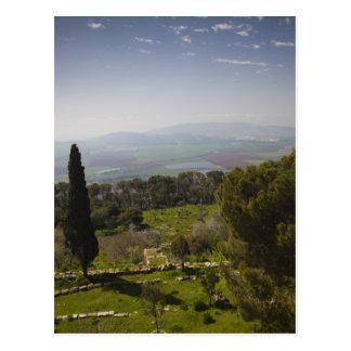 Cartão Postal Montagem Tabor, local da transfiguração bíblica