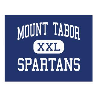 Cartão Postal Montagem Tabor - Spartans - altos - Winston Salem