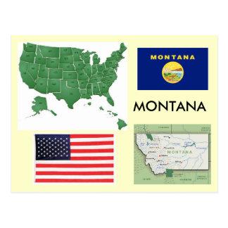 Cartão Postal Montana, EUA