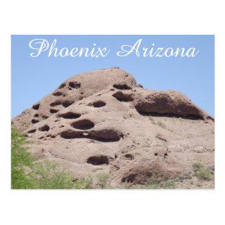Cartão Postal Montanha da formação de rocha da arizona de