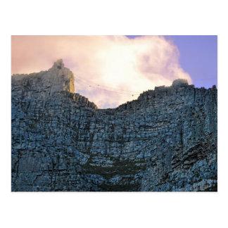 Cartão Postal Montanha da mesa de Cape Town