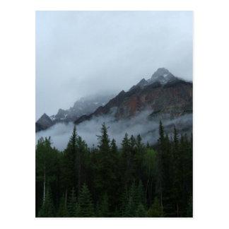 Cartão Postal Montanha da nuvem