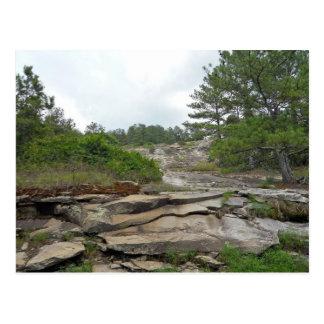 Cartão Postal Montanha de pedra, Geórgia