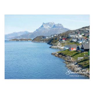 Cartão Postal Montanha de Sermitsiaaq, Nuuk