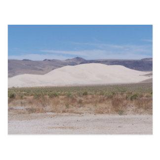 Cartão Postal Montanha Fallon da areia, Nevada