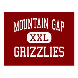 Cartão Postal Montanha Gap - ursos - meio - Huntsville