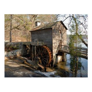 Cartão Postal Montanha Geórgia da pedra do moinho da munição