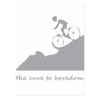 Cartão Postal Montanha que biking, a cura ao enfado