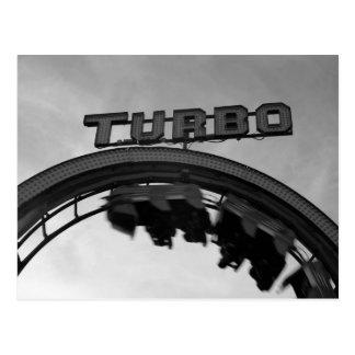 Cartão Postal Montanha russa de TURBO