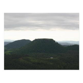 Cartão Postal Montanha Toowoomba do tampo da mesa