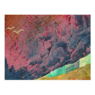 Cartão Postal Montanhas azuis