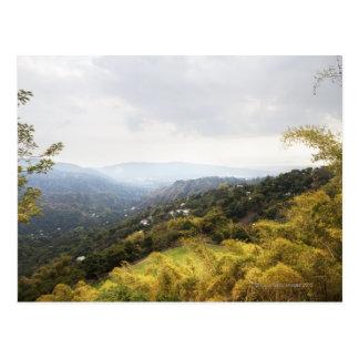 Cartão Postal Montanhas azuis sobre a vista de Kingston