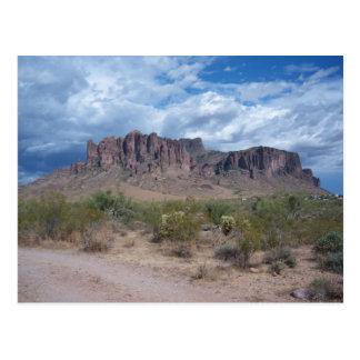 Cartão Postal Montanhas da superstição