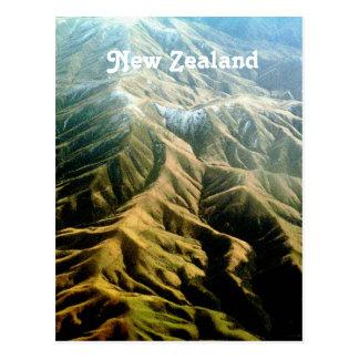 Cartão Postal Montanhas de Nova Zelândia
