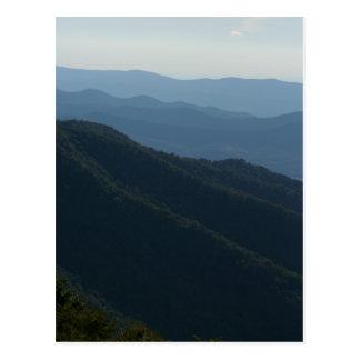 Cartão Postal Montanhas de Shenandoah
