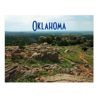 Cartão Postal Montanhas de Wichita, Oklahoma
