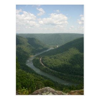 Cartão Postal Montanhas do Appalachia
