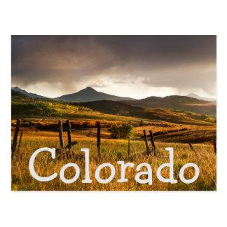 Cartão Postal Montanhas dos EUA, Colorado, San Juan