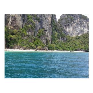 Cartão Postal Montanhas em Phuket