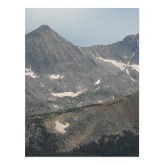 Cartão Postal Montanhas rochosas