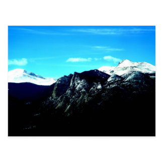 Cartão Postal Montanhas rochosas bonitas em Colorado