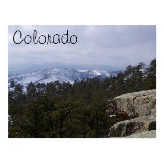 Cartão Postal Montanhas rochosas de Colorado