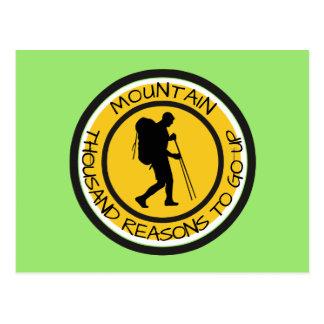 Cartão Postal Montanhista