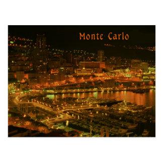 Cartão Postal Monte - Carlo