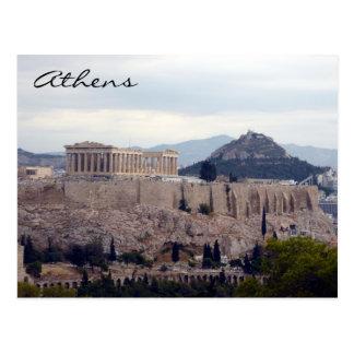 Cartão Postal monte da acrópole