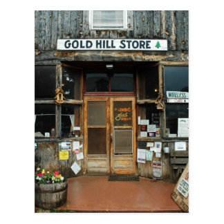 Cartão Postal Monte do ouro, Colorado, loja geral