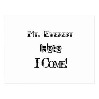 Cartão Postal Monte Everest aqui eu venho!