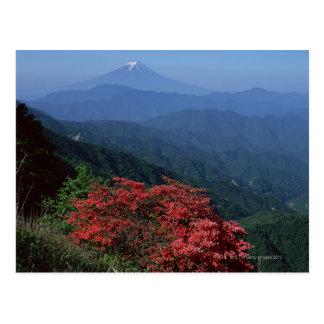 Cartão Postal Monte Fuji