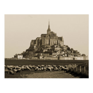 Cartão Postal Monte Saint-Michel