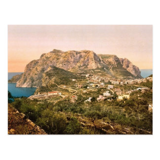 Cartão Postal Monte Solaro, Capri, ilha de, vintage Phot de