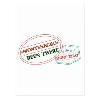 Cartão Postal Montenegro feito lá isso
