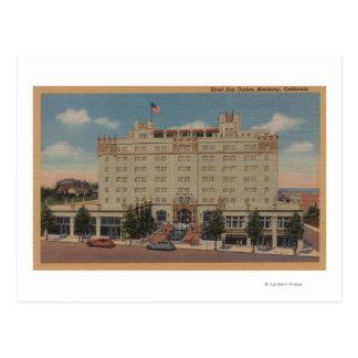 Cartão Postal Monterey, CA - opinião de San Carlos do hotel
