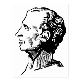 Cartão Postal Montesquieu