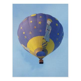 Cartão Postal Montgolfiere - Hot ar balloon - Pequeno Príncipe