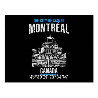 Cartão Postal Montréal
