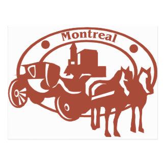 Cartão Postal Montreal