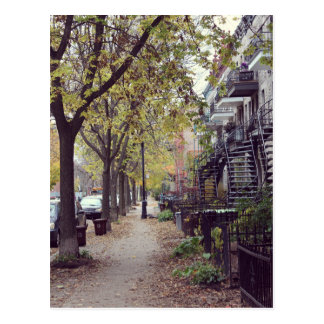 Cartão Postal Montreal - Outono