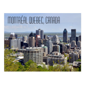 Cartão Postal Montréal Quebeque Canadá