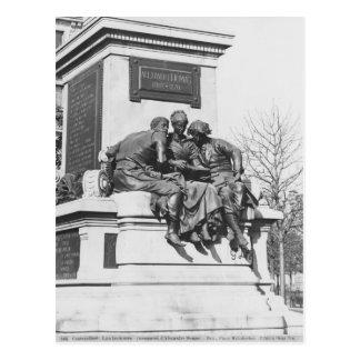 Cartão Postal Monumento a Alexandre Dumas Pere