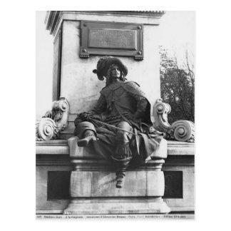 Cartão Postal Monumento a Alexandre Dumas Pere, d'Artagnan
