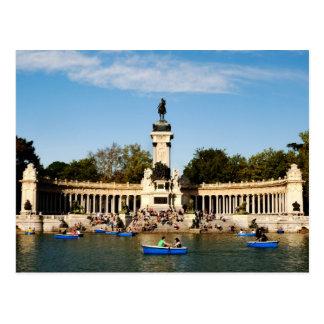 Cartão Postal Monumento a Alfonso XII