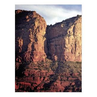 Cartão Postal monumento agradável da rocha