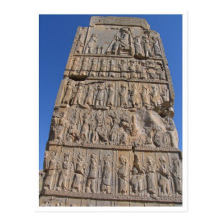 Cartão Postal Monumento antigo em Perspolis